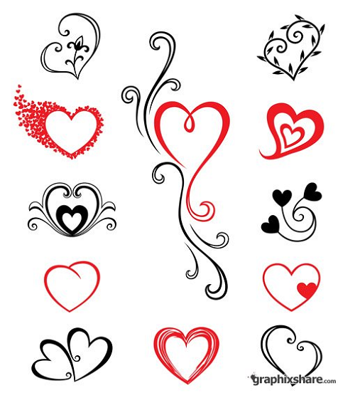 Human Heart Design Tattoo