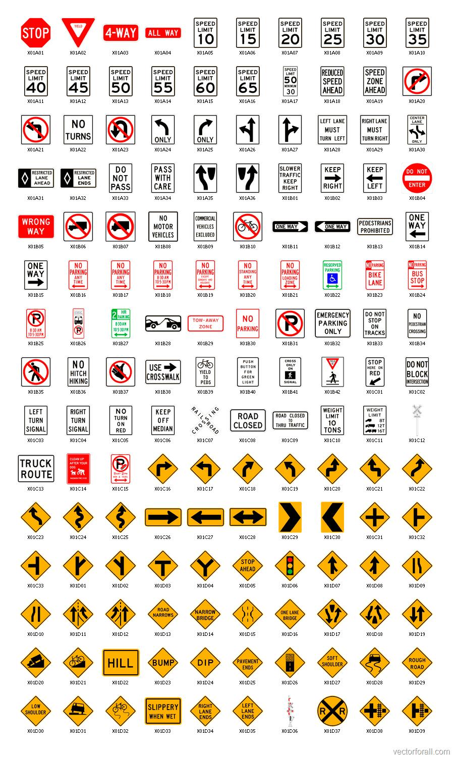 Road Signs Road Signs Usa Traffic Signs American Road Signs