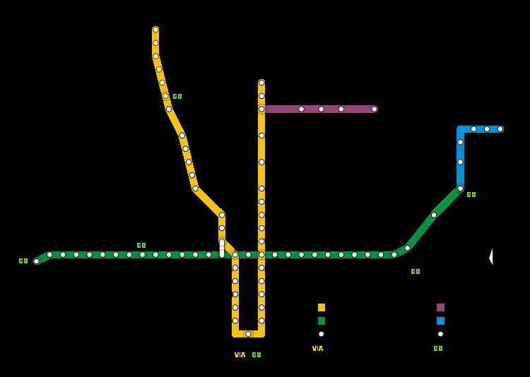 Subway Train Map Toronto